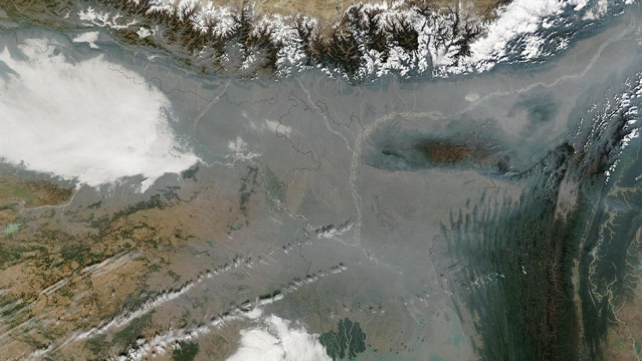 Air pollution in Bangladesh and Northern India